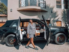 MaMkhize shows off her latest gift: A Rolls-Royce worth R16 million