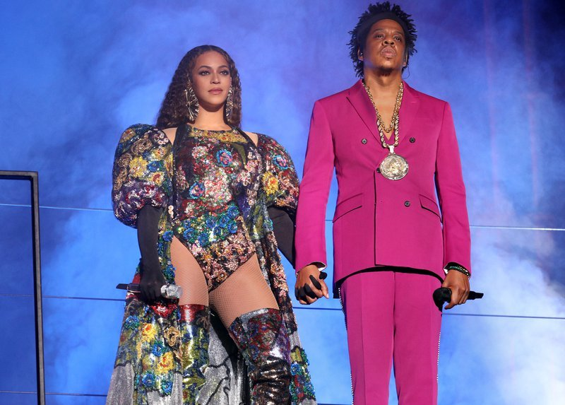 Beyonce and Jay-Z Two