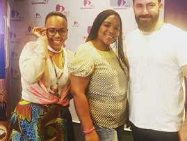 Mandoza wife image with martin and Tumi