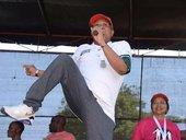 Mbalula dancing