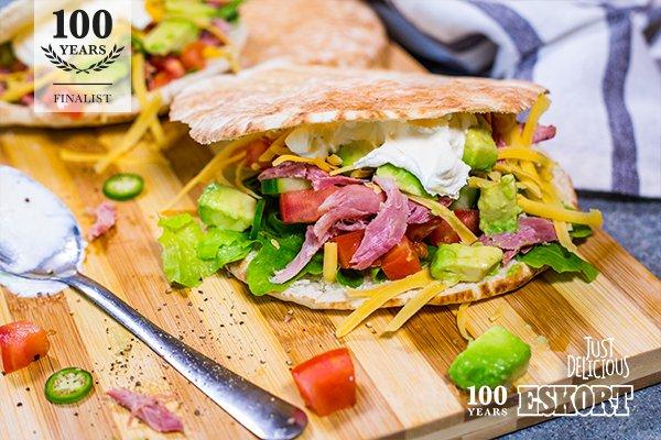 100 Year Recipe Finalist - BBQ Pulled Pork Pitas