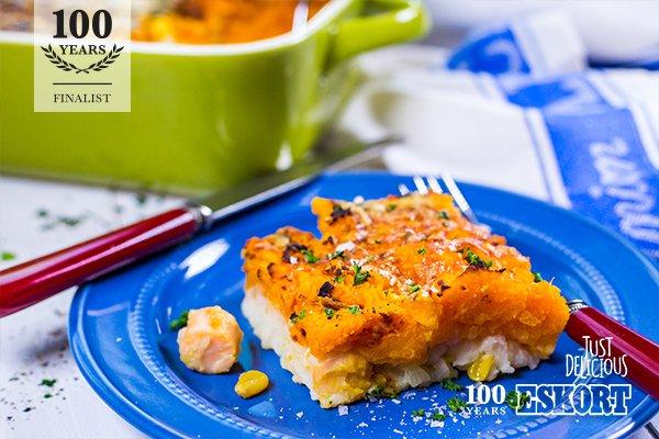 100 Year Recipe Finalist - Butternut & Sausage Shepherd's Pie
