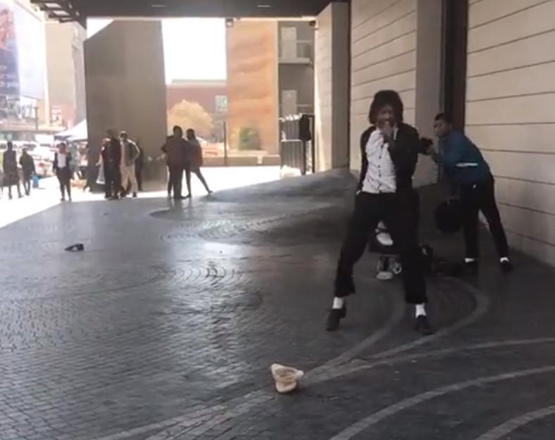 Michael Jackson impersonator in Pretoria