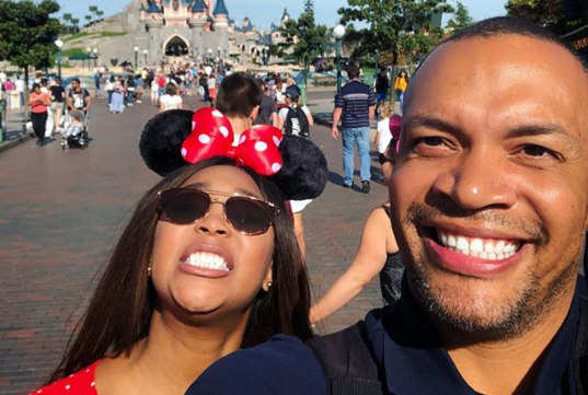 Minnie Dlamini celebrates wedding anniversary at Disneyland Paris