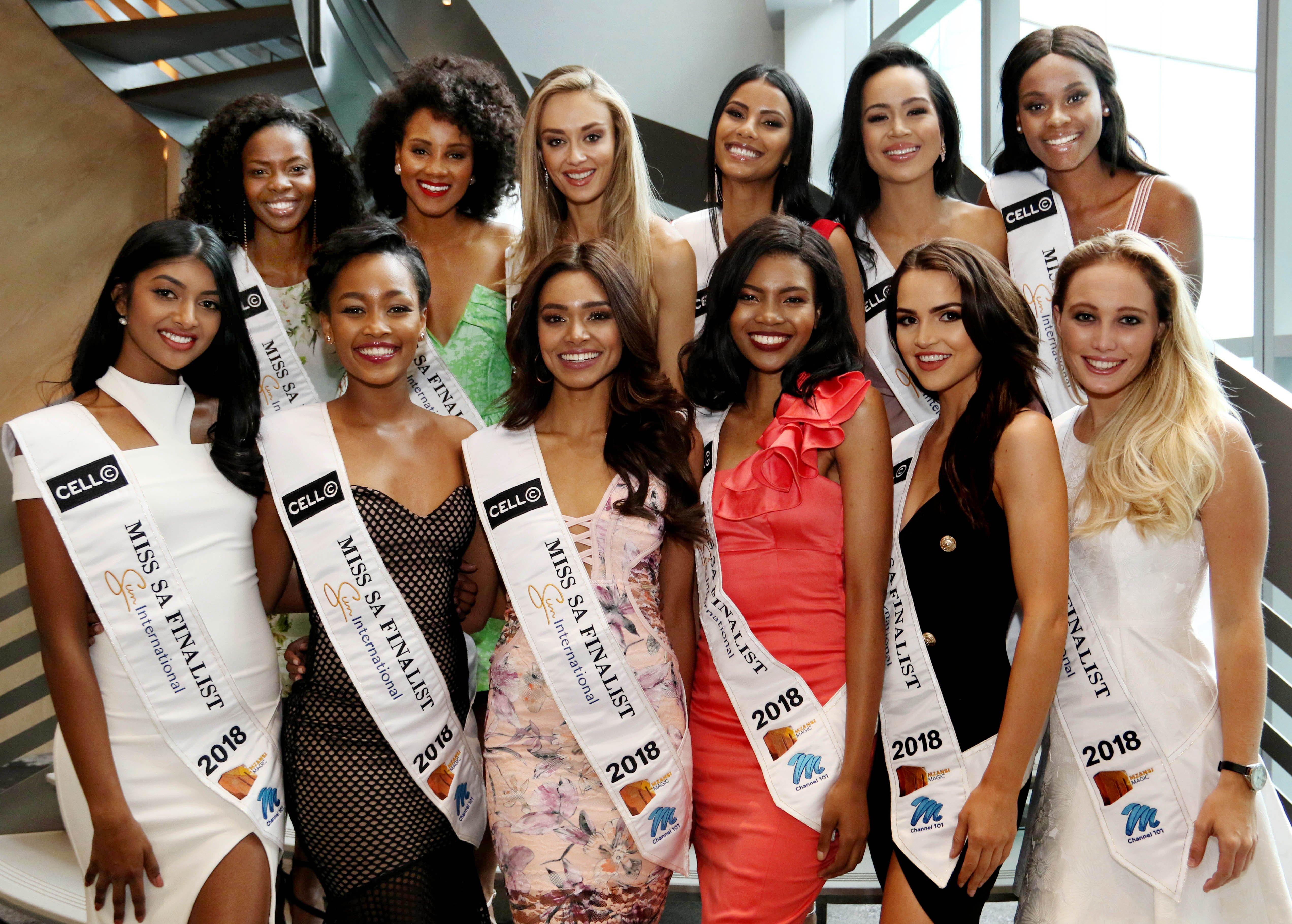 Miss SA 2018 finalists