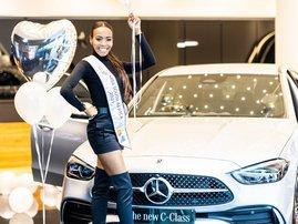 Miss SA new car Merc