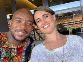 Mmusi Maimane and Natalie