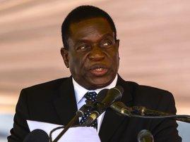 Zimbabwe's Emmerson Mnangagwa