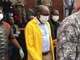 Mxolisi Kaunda coronavirus