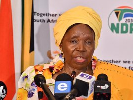 Nkosazana Dlamini Zuma says no vaccine for Covid19 briefing