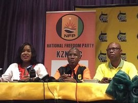 NFP in KZN decides to vote with ANC