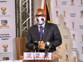 Minister of Sport and Recreation Nathi Mthethwa
