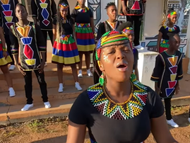 Ndlovu Youth Choir Shape of You