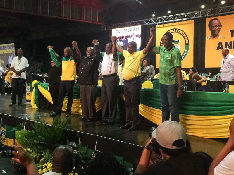New ANC Top six