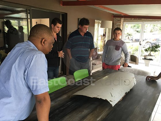 MH370 UPDATE: Collection of debris from Lotter family
