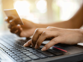 Online buying, computer, PC,
