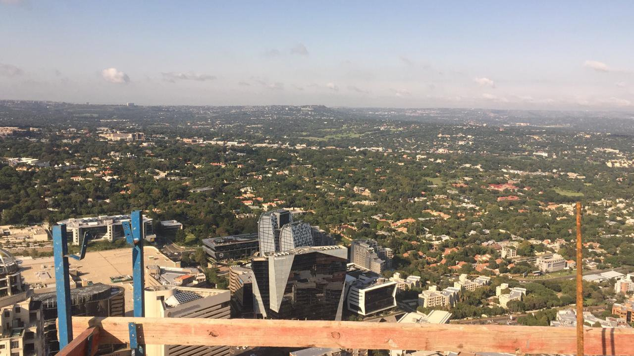 Roof of the Leonardo in Sandton/Supplied