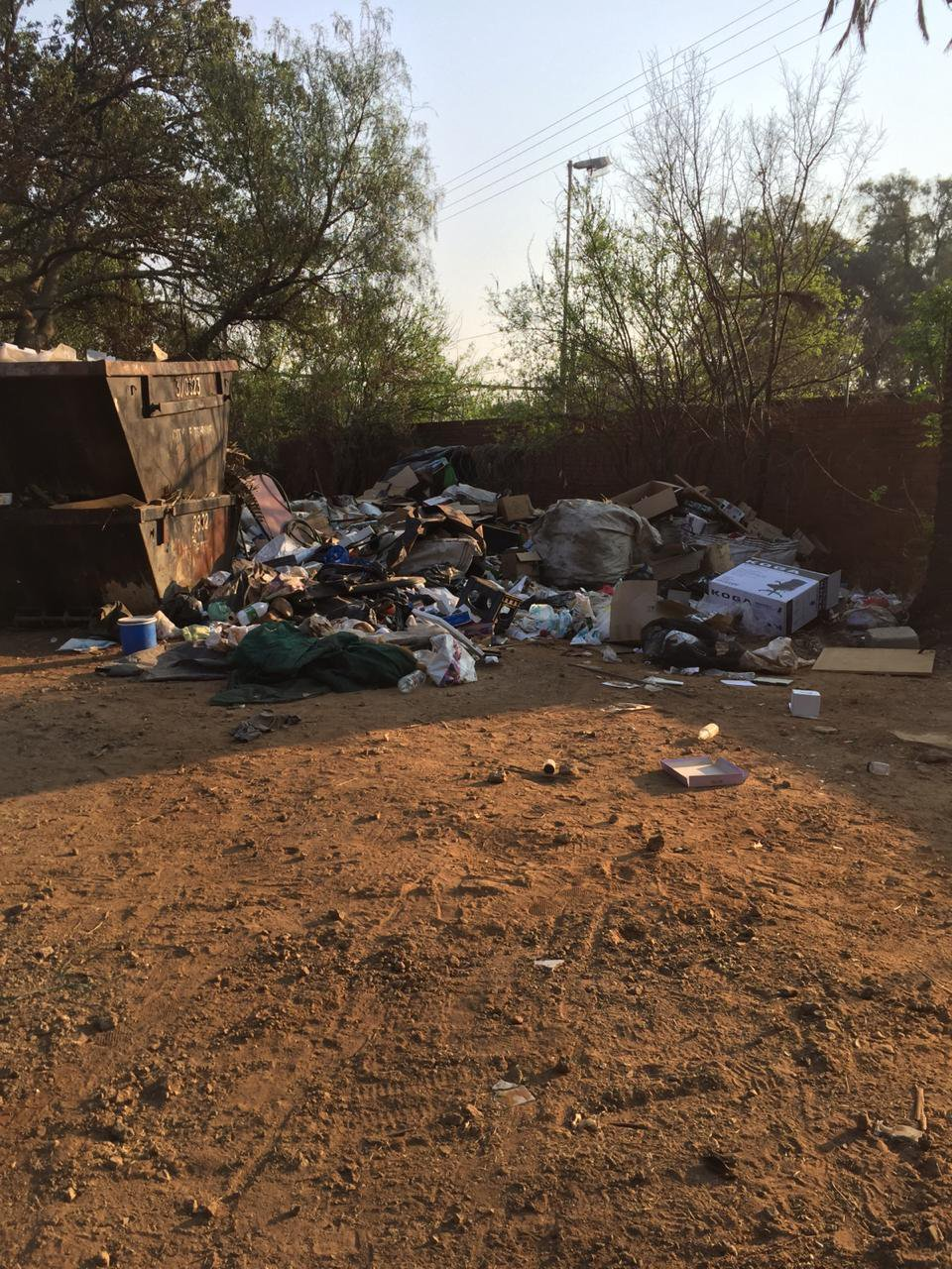 City of Tshwane dumping four