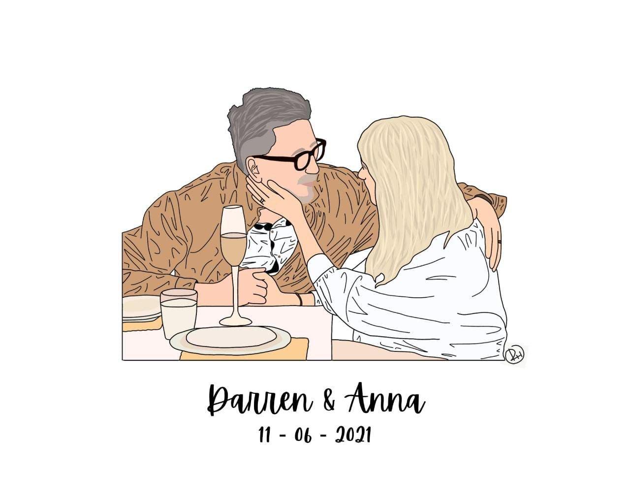 Darren and Anna
