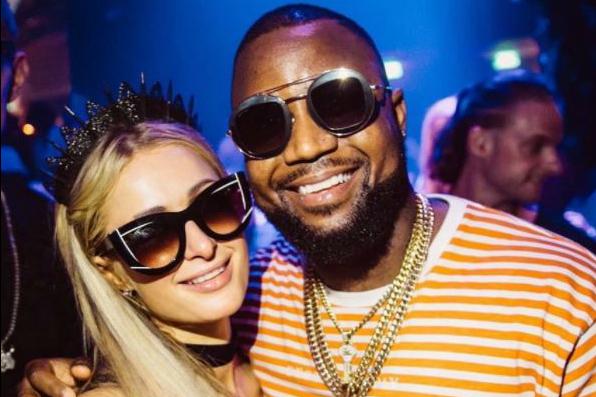 Cassper Nyovest Paris Hilton Ibiza