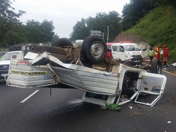 One killed, five injured in Durban N3 crash