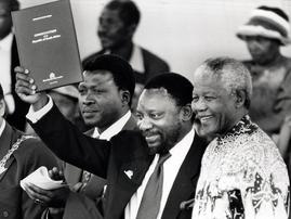 Ramaphosa & Mandela