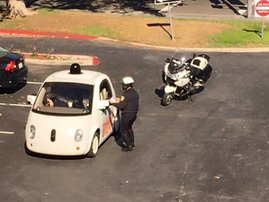 google - self-driven car