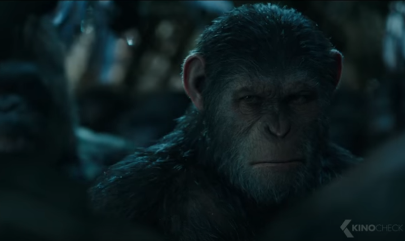 'Planet of the Apes' topples 'Spider-Man' in weekend debut