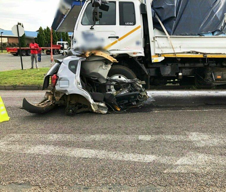 [PICTURES] Man Survives Horrific Car Crash