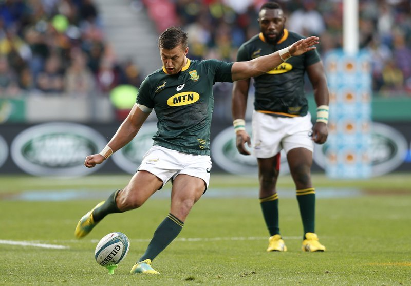 Scotland 20-26 South Africa: Springboks come out on top at Murrayfield