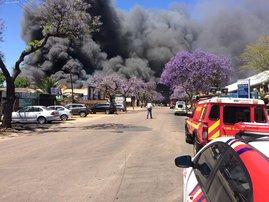 Pretoria West fire 1