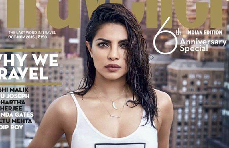 Social media uproar over Priyanka Chopra's magazine shoot