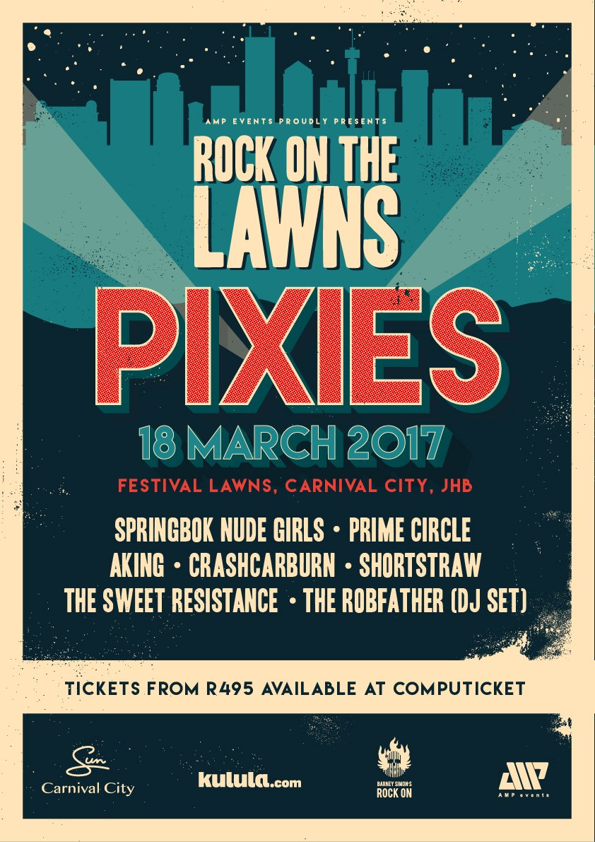 rock on the lawns event poster