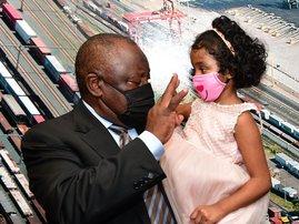 Ramaphosa meets Mehran