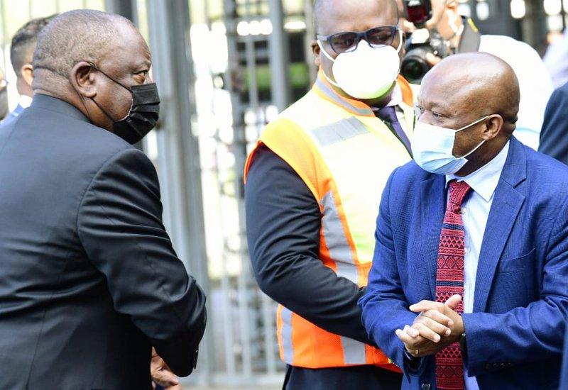 Ramaphosa Vist Durban