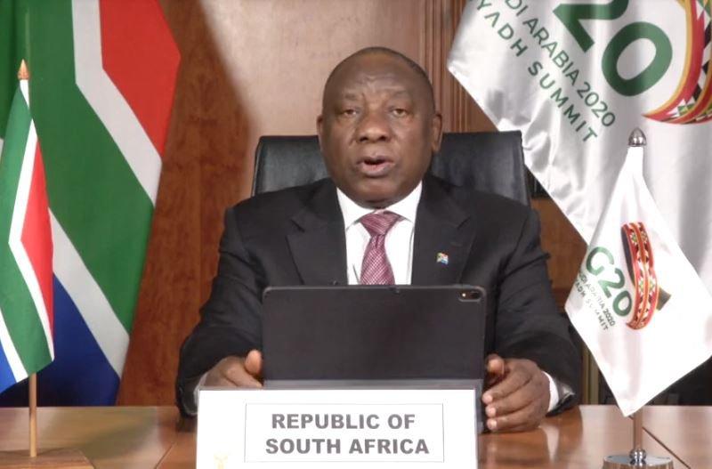 Ramaphosa G20 2020