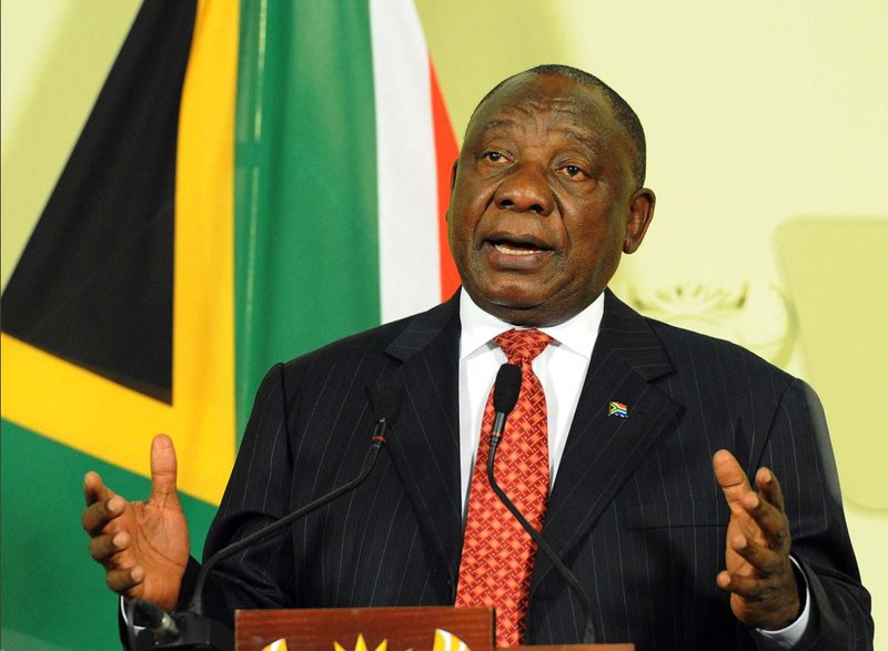 Cyril Ramaphosa, infrastructure