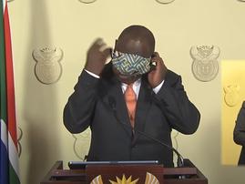 Ramaphosa Mask