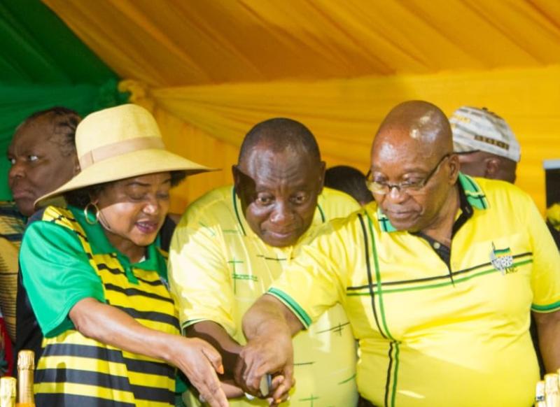 Ramaphosa, Zuma, ANC