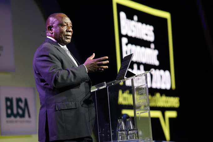 Ramaphosa on state capture arrests