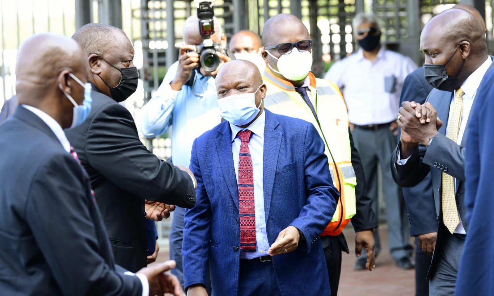 Ramaphosa visits durban