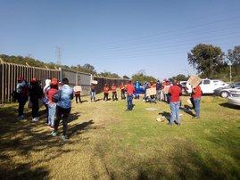 Rand Water strike