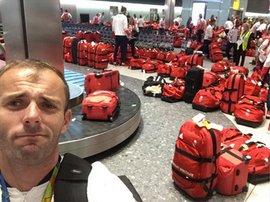 Red Luggage drama