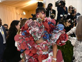 Rihanna wins Met Gala outfit of the year....again!