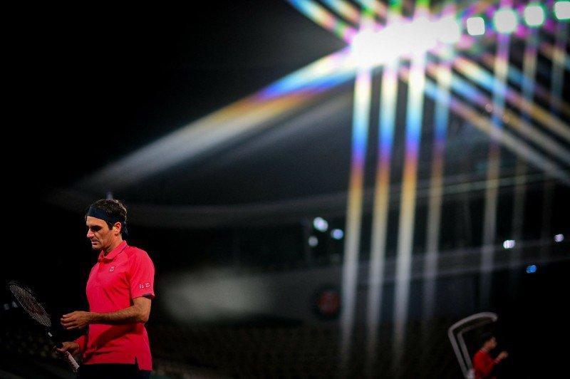 Roger Federer French Open 5 June 2021