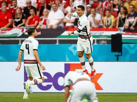 Christiano Ronaldo Portugal vs Hungary Euro2020
