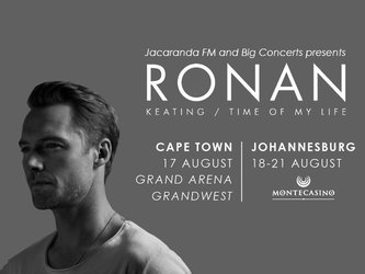 Ronan Keating/Time of My Life concert