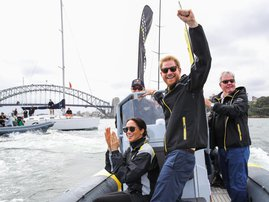 Prince Harry and Meghan Australia Visit