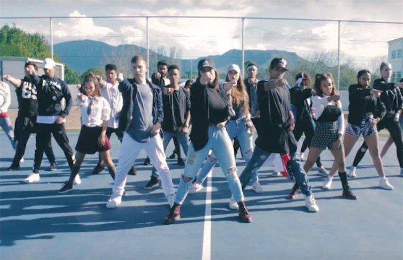 Choreographer Rudi Smit video for meghan trainor
