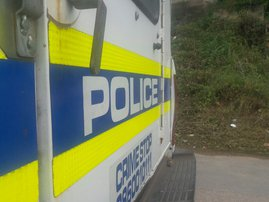 Police car, generic SAPS image